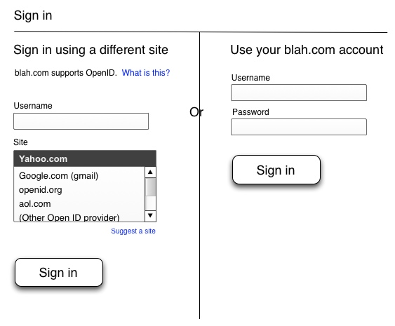 A better openID UI?